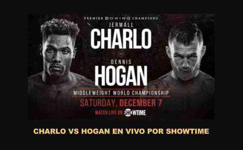 Jermall Charlo vs Dennis Hogan, este Sábado en VIVO por Showtime