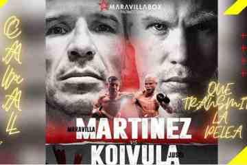 En que Canal pasan la pelea de Maravilla Martinez vs Jussi Koivula