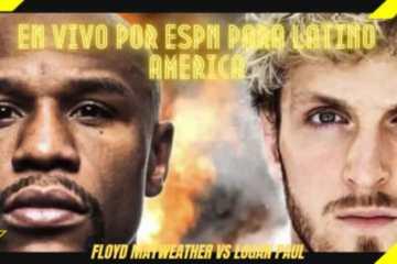 Como Ver en VIVO Floyd Mayweather vs Logan Paul
