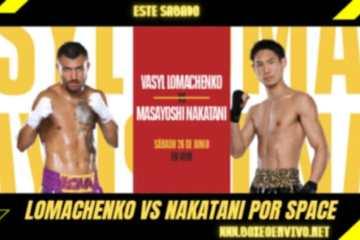 Lomachenko vs Masayoshi Nakatani