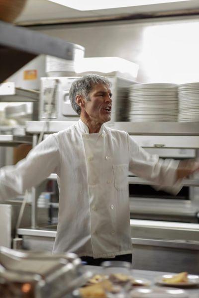 Chef Tiziano in his element