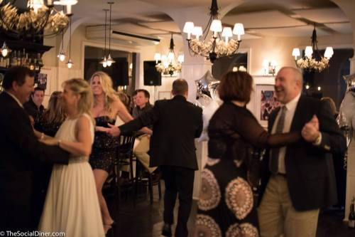Revelers enjoy New Year's Eve at The Ocean House.