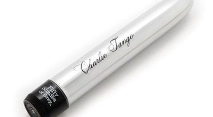 FIFTY SHADES OF GREY CHARLIE TANGO CLASSIC VIBRATOR SILVER