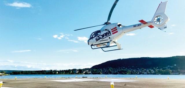 Helikoptertur i Göteborg - Över staden & Göteborgs skärgård Image