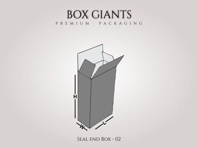 Custom Printed Seal End Boxes