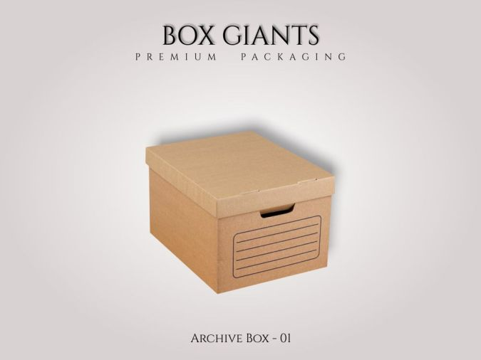 Custom Printed Archive Boxes