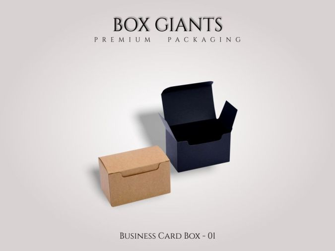 Custom Printed Business Card Boxes