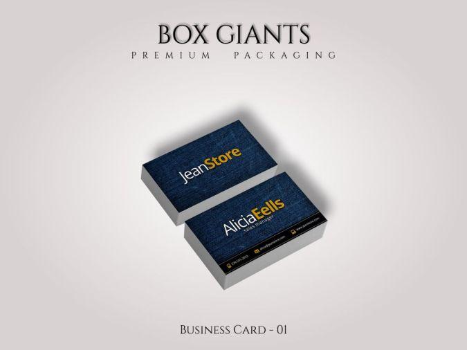 Custom Printed Business Cards