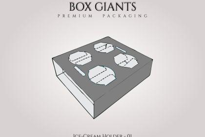 Ice Cream Holder Boxes