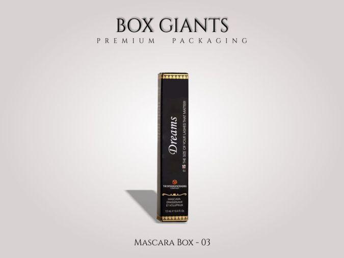 Custom Printed Mascara Boxes