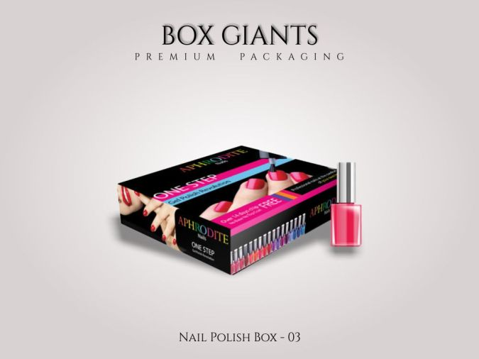 Custom Printed Nail Polish Boxes