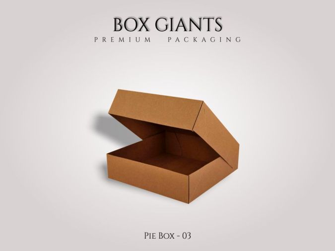 Custom Printed Pie Boxes
