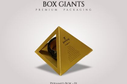 Custom Printed Pyramid Boxes