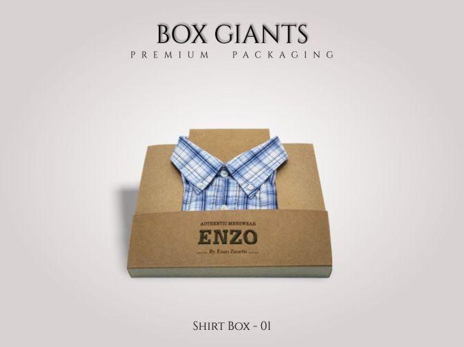Custom Printed Shirt Boxes