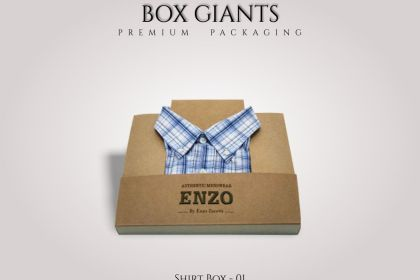 Custom Printed Shirt Boxes