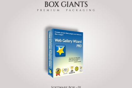 Custom Printed Software Boxes