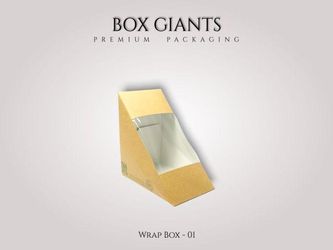 Custom Printed Wrap Boxes