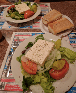Read about the great health benefits of greek salad, then visit us at Box Hill for our Famous Greek Salad!
