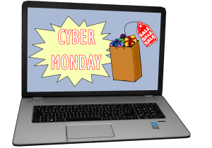 Use our Cyber Monday code for discounted FedEx shipping- today only!