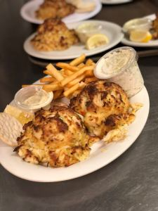 Visit Box Hill this Saturday to celebrate National Crab Meat Day!