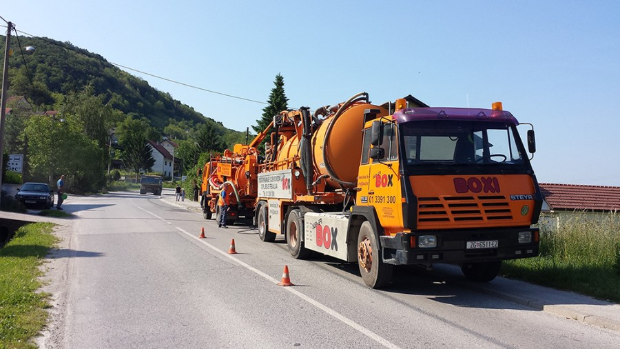 Pranje prometnica, čišćenje odvoda oborinskih voda, čišćenje slivnika, zimska služba