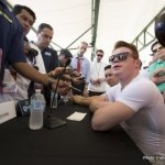 Canelo answering media questions