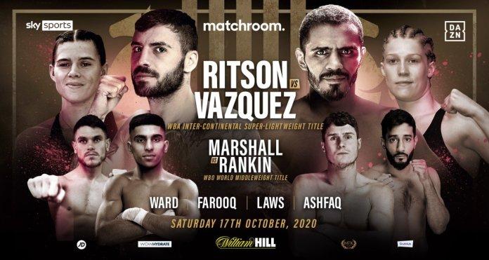 Lewis Ritson Vs. Miguel Vazquez - 17 October 2020 - Boxrec