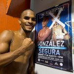 9 ago 2013 Bomba Gonzalez last pre weigh in and training for Giovani Segura 15
