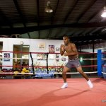 9 ago 2013 Bomba Gonzalez last pre weigh in and training for Giovani Segura 3