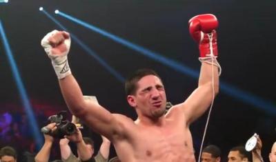 Garcia vs Herrera - Danny Garcia celebrates win over Mauricio Herrera