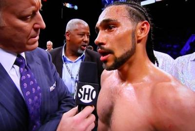 Thurman vs Diaz - Keith Thurman following win over Julio Diaz