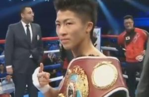 Naoya Inoue was victorious in December