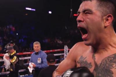 Rios vs Alvarado III - Brandon Rios celebrates one-sided destruction of Mike Alvarado
