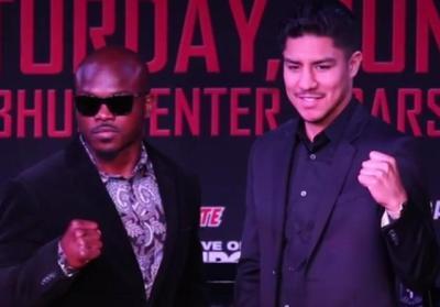 Bradley vs Vargas - Timothy Bradley and Jessie Vargas at press conference