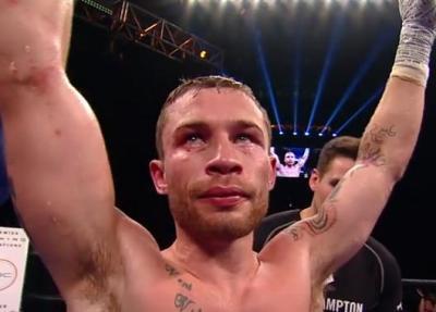 Carl Frampton returns in the November Boxing Top 5