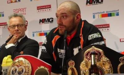 Anthony Joshua vs Tyson Fury is a strong possibility