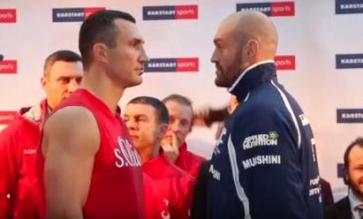 Fury vs Klitschko is one of October's biggest boxing encounters