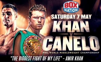 Canelo vs Khan will be taking center stage on this weekend's TV Boxing Schedule