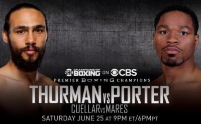 Thurman vs Porter is a major Welterweight matchup this weekend