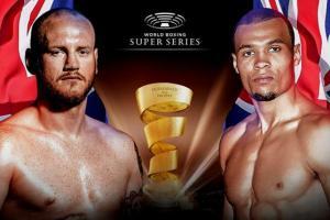Groves vs Eubank Jr boxing banner