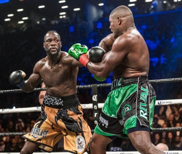 Deontay Wilder Agrees To Anthony Joshua Fight In Uk