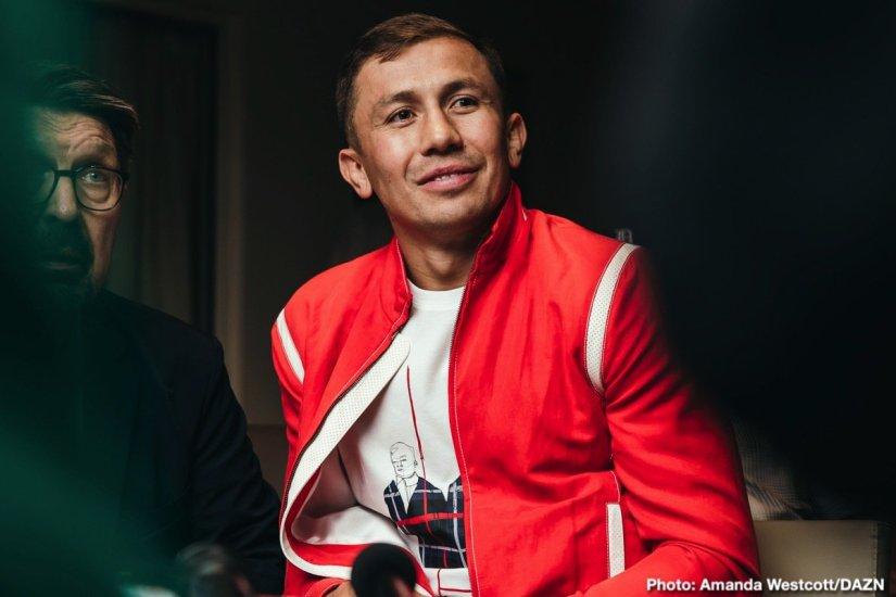 Gennady Golovkin Canelo vs. Golovkin DAZN Golovkin vs. Derevyanchenko Sergiy Derevyanchenko