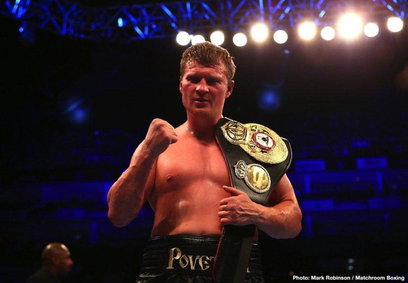 Alexander Povetkin Tyson Fury Hughie Fury Povetkin vs. Fury