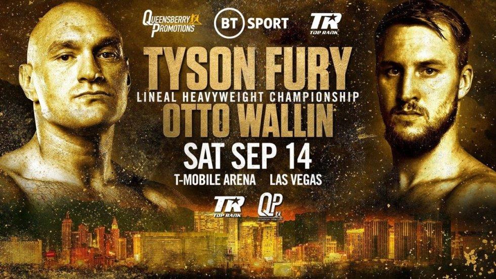 Image result for Tyson Fury vs. otto wallin