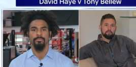 haye and bellew