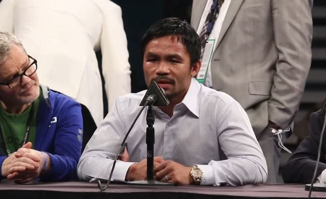 The Almost Maniacal Manny Pacquiao Training Routine