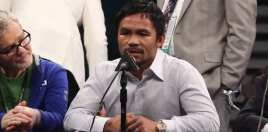 Pacquiao Gives Update