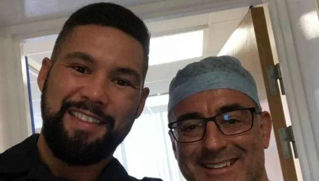 tony bellew gets surgery