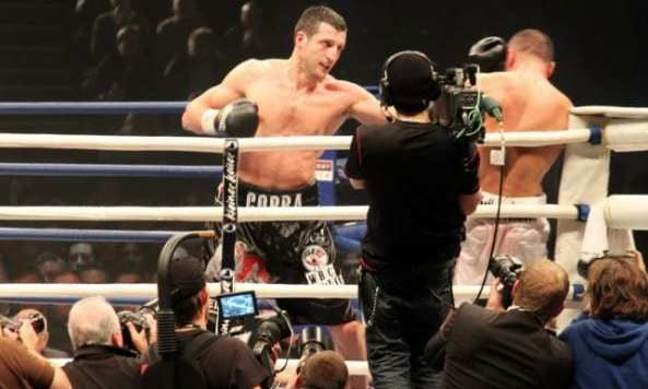 Carl Froch having