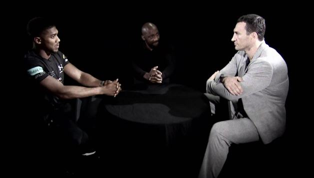 Joshua vs Klitschko Gloves Are Off